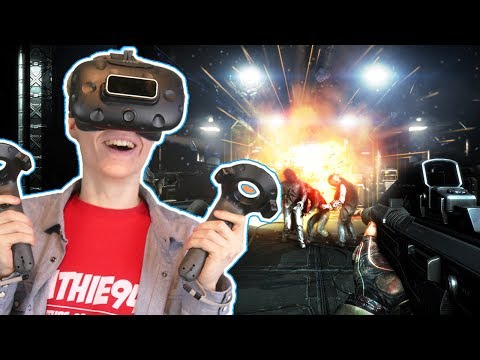 THE DOOM OF VIRTUAL REALITY?! | Dead Effect 2 VR (HTC Vive Gameplay)