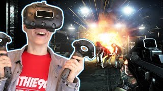 THE DOOM OF VIRTUAL REALITY?! | Dead Effect 2 VR (HTC Vive Gameplay) Ep 1