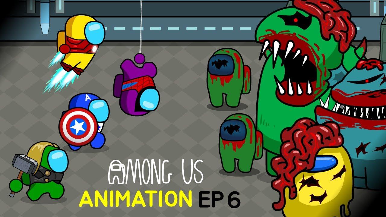 어몽어스 VS 좀비 애니메이션 6화 AMONG US ANIMATION EP6