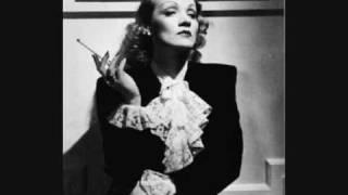 marlene dietrich falling in love again
