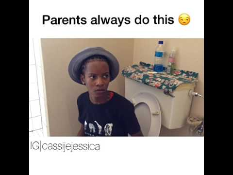 Namibian Parents always do this  like its a joke