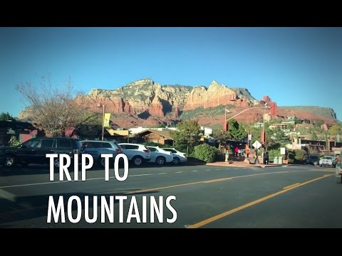 Travel in the mountains in USA by car