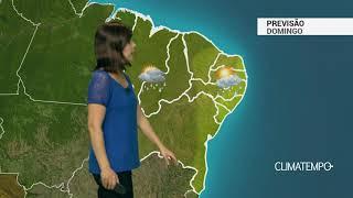 Previsão Nordeste – Interior da Bahia com chuva
