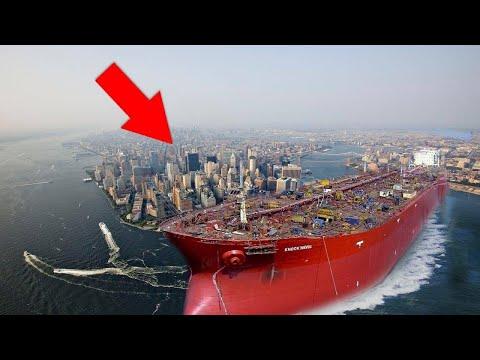 هذه هى السفينة الأكبر حجما فى العالم