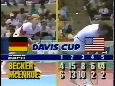 היום לפני 29 שנה: בוריס בקר מנצח את ג'ון מקנרו במשחק הארוך ביותר / מנחם לס