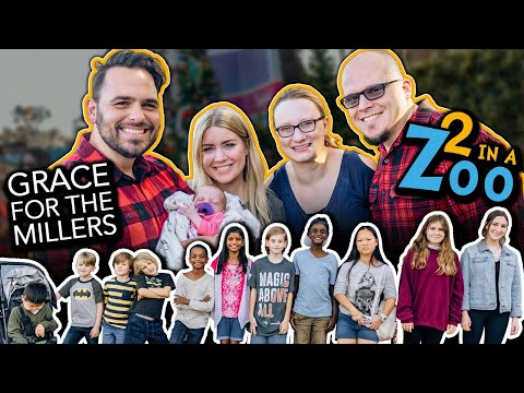 Collab Vlog: @Grace For The Millers + @2 In A Zoo // 12 Kids For A Day But Baby Fever Is Contagious!