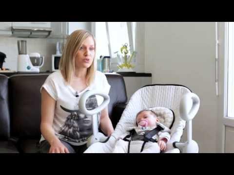 beaba les parents testent le transat up down ii youtube