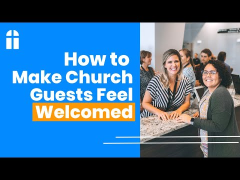 Help Your Church Guests Feel Welcomed. | Member Testimonial