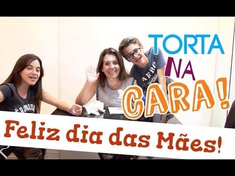 Torta na CARA com a minha mãe - FELIZ DIA DAS MÃES - Carol Santina