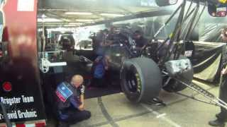 Top Fuel Dragster Pit Start Up Topeka, Kansas