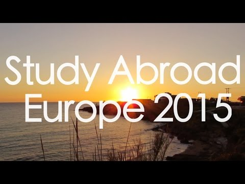 Study Abroad Spring 2015 - Reading, England - Europe Travel