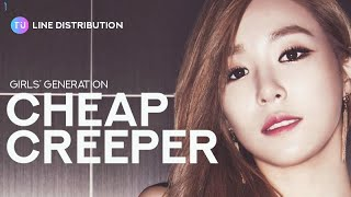 Download Video GIRLS' GENERATION  - CHEAP CREEPER (Line Distribution)   소녀시대 - 칩 크리퍼 MP3 3GP MP4