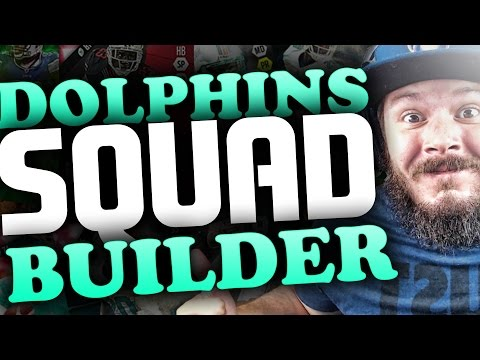 ALL-TIME MIAMI DOLPHINS SQUAD BUILDERS & GAMEPLAY | MADDEN 16 ULTIMATE TEAM