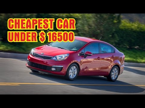 Buy Car Usa >> Hot 2017 Top 10 Cheapest Car Under 16 500 You Can Buy This Year