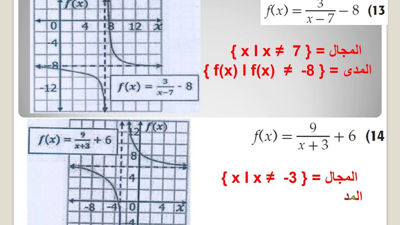 حل كتاب الطالب رياضيات ثاني ثانوي المستوى الرابع ف2 Youtube