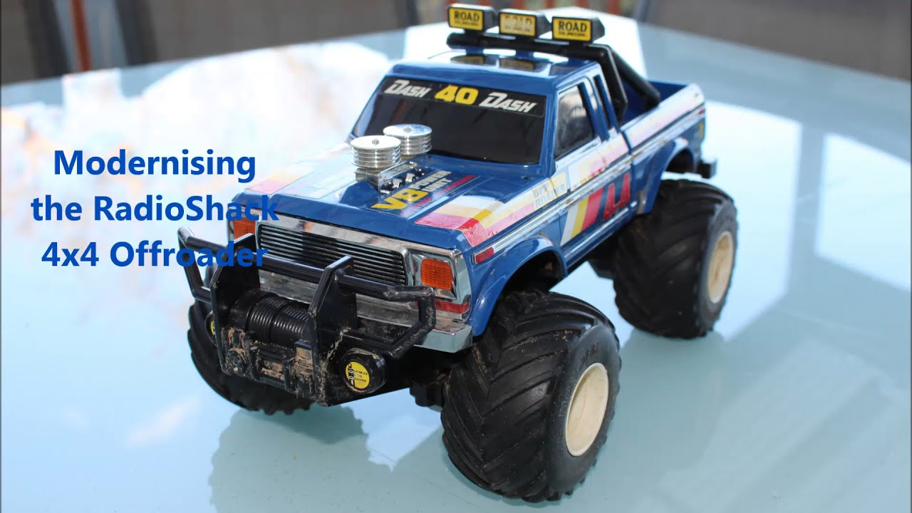 Best Rc Truck 4x4 : The best rc truck ever made radioshack offroader
