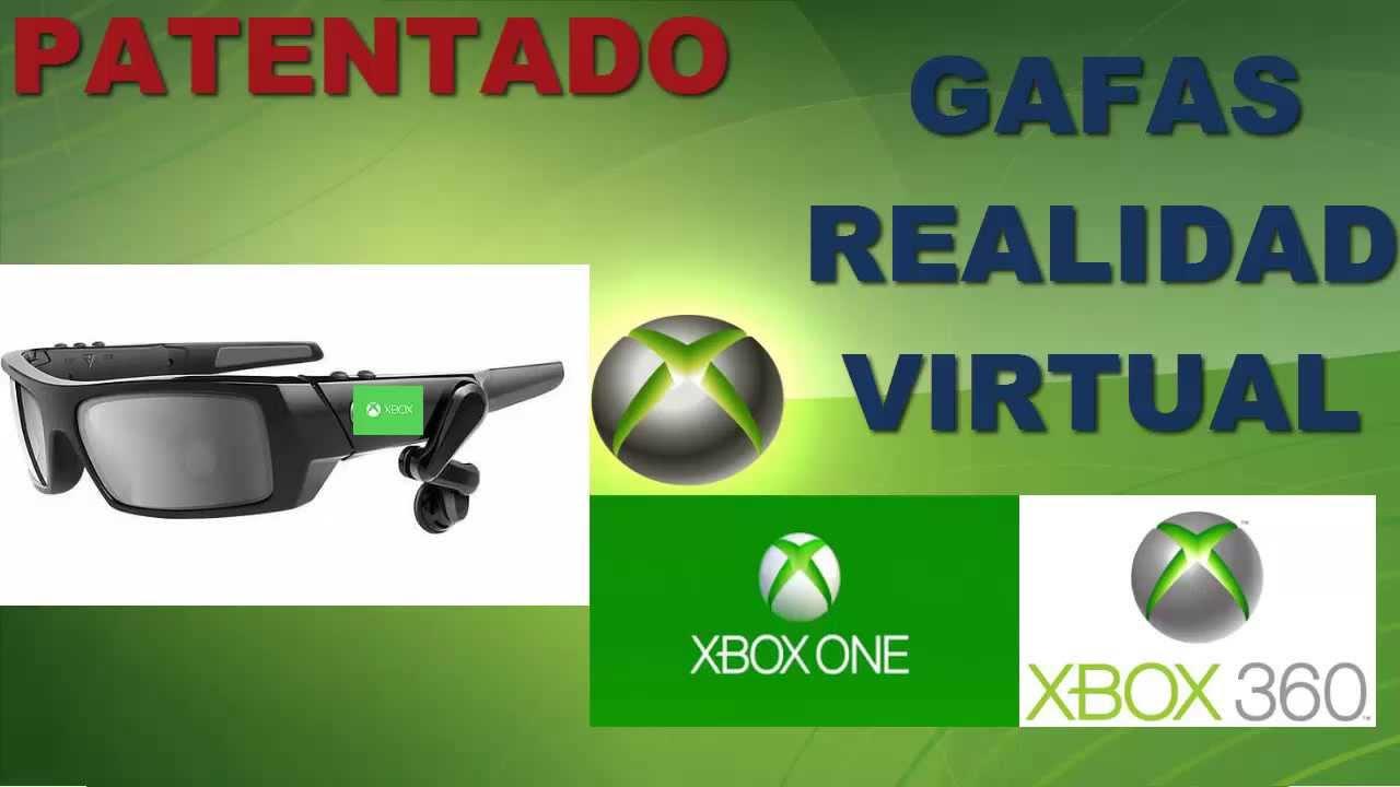 news PATENTADO GAFAS REALIDAD VIRTUAL PARA XBOX 360 Y XBOX ONE