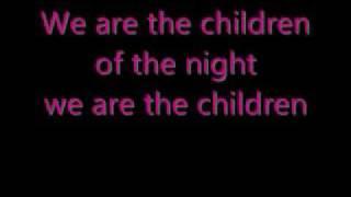 the blackout - children of the night lyrics