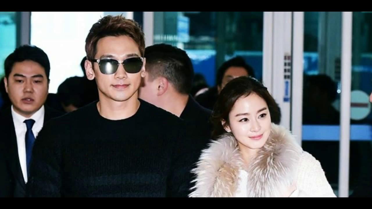Rain dating kim tae hee