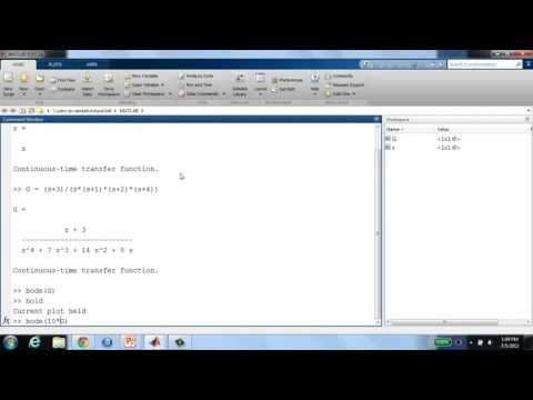 System Dynamics and Control: Module 21 - Frequency Response for Analysis