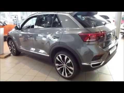 2018 vw t roc 39 39 sport 39 39 exterior interior 4motion 190 hp. Black Bedroom Furniture Sets. Home Design Ideas