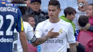 vuclip James Rodriguez vs Getafe Away (16/04/2016) by JamesR10™