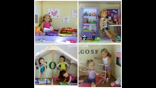 My Girl's Dollhouse | American Girl, Journey Girl, And Our Generation Dollhouse ~building It!