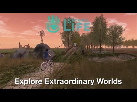 Second Life - The Largest-Ever 3D Virtual World Created By Users