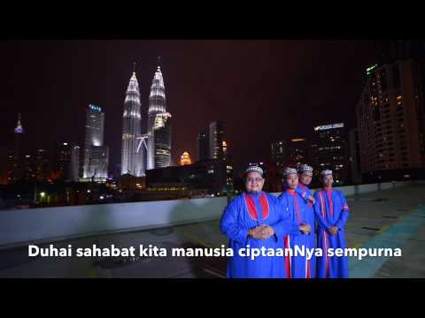 AL MANNA - SAHABAT [ Official Lyric Video ]
