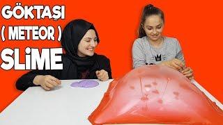 GÖKTAŞI SLİME CHALLENGE  ( Meteor Slime ) | Yeni bir slime oynama şekli KEŞFETTİK 😱 !!