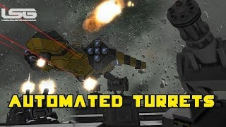 Space Engineers - Automated Turrets, Sentry Guns & Wheels