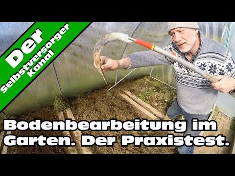 Bodenbearbeitung im Garten, der Praxistest
