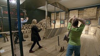 Axe throwing a big hit in N.S.