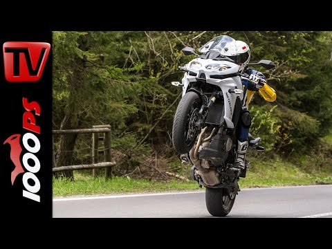 Kawasaki Versys 1000 Test 2016 | Motorrad Quartett | Action, Design, Details