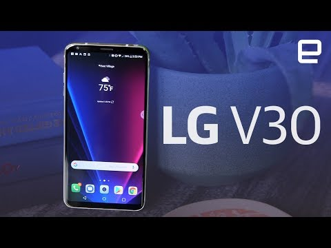 LG V30 hands-on at IFA 2017