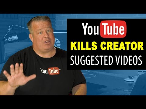 YouTube Algorithm Update: No More Creator Suggested Videos