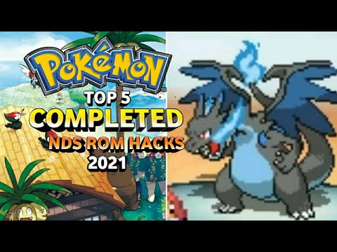Top 5 Completed Pokemon NDS Rom Hacks 2019!! (Android/PC)