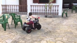 VIDEO ANTIGO - CORRIDA MOTO ELÉTRICA