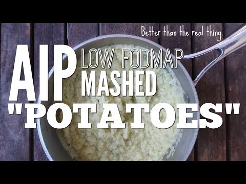 AIP [Autoimmune Paleo] Low FODMAP Mashed