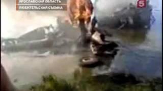 """Под Ярославлем погибла команда """"Локомотив"""""""