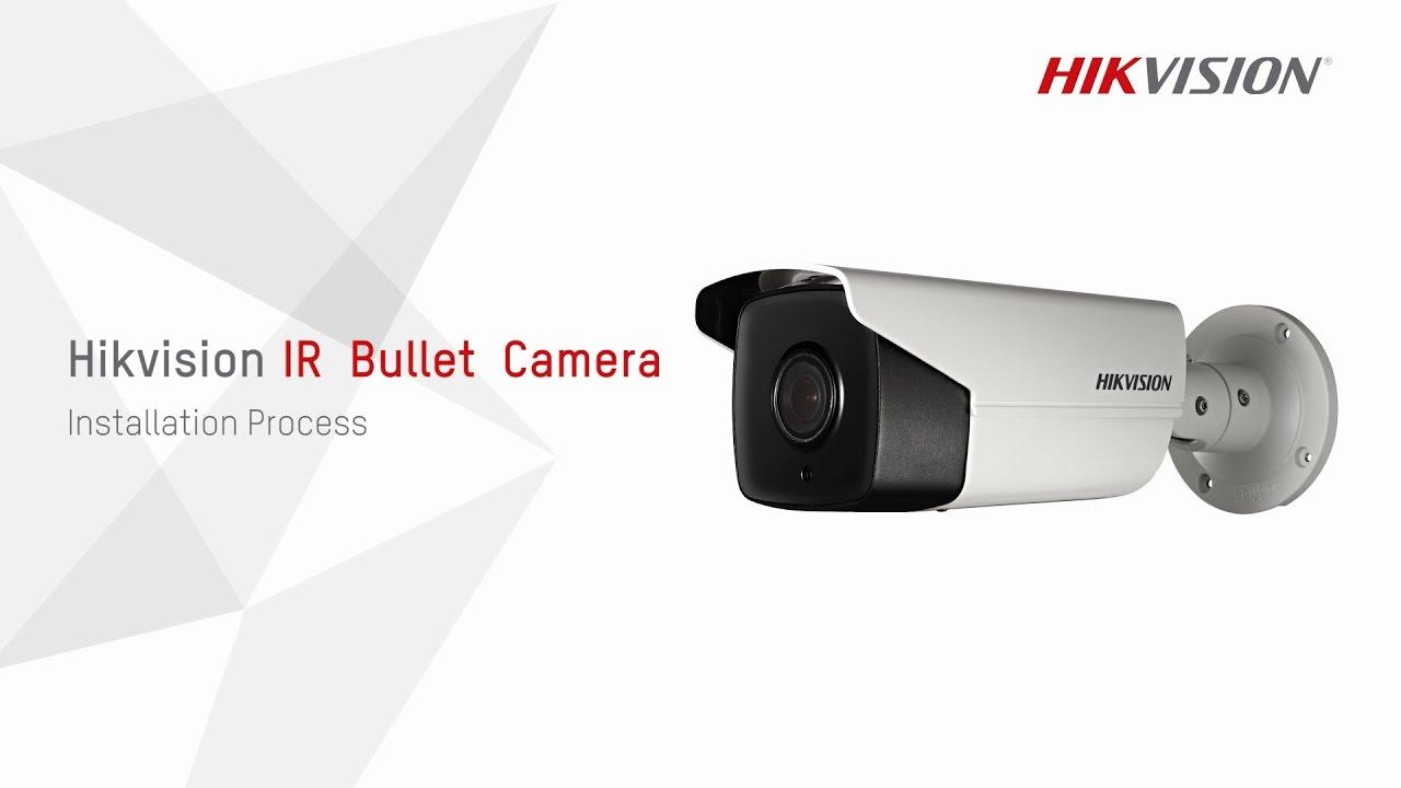 medium resolution of hikvision ir bullet camera installation process youtubeir camera wiring diagram 10