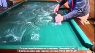 видео Ремонт бильярдных столов недорого