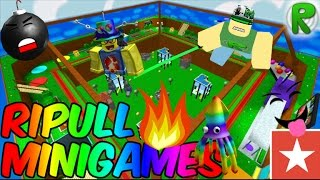 RIPULL MINIGAMES | Roblox | Episode 4!
