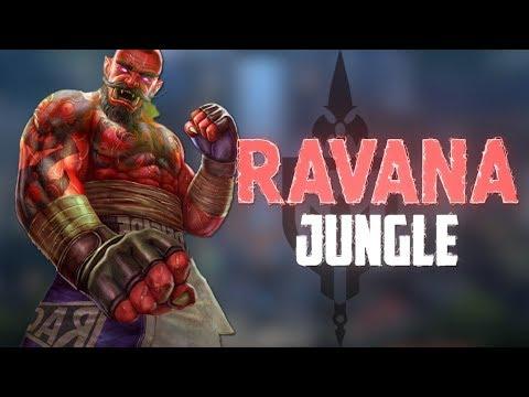 Ravana Ranked Jungle: KILL A MINUTE IN RANKED? - Incon - Smite