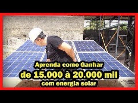 CURSO INSTALADOR ENERGIA SOLAR - APRENDA DE VERDADE!