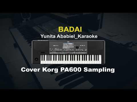 Badai Yunita Ababiel-Korg PA600 Sampling Karaoke