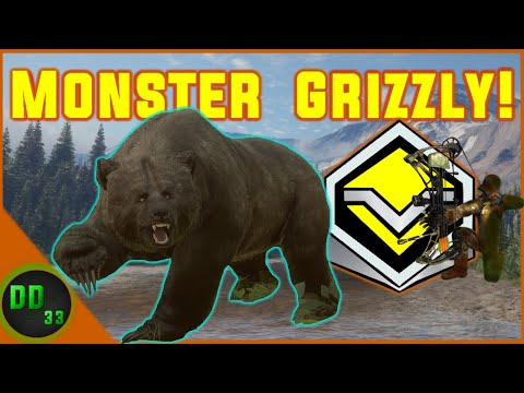 DIAMOND GRIZZLY BEAR With A BOW!!! Call Of The Wild