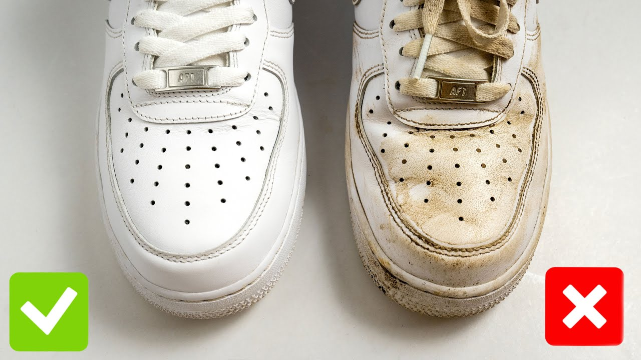 HOW TO GET CREASES OUT OF AIR FORCE 1'S