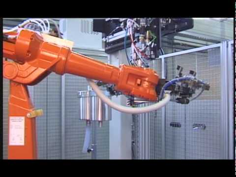 hqdefault abb robotics applying foam gasket to plastic automotive parts  at bayanpartner.co