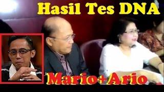INILAH HASIL TES DNA Mario Teguh Dan ARIO Kiswinar ~ Gosip Terbaru 11 Oktober 2016